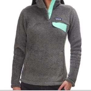 NWT Patagonia women's retool snap T pullover